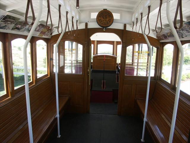 Interior of Cable Car